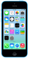 Imagen frontal de Apple  iPhone 5C